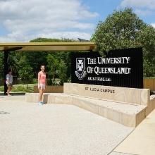 Ilka Mühlemeier arbeitete fünf Wochen an der Universität of Queensland an der